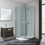 Simpsons Design Double Door Quadrant Shower Enclosure 900mm