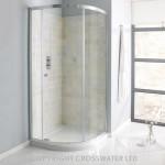 Simpsons Edge 1000mm Quadrant Shower Enclosure with Single Door