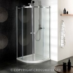 Simpsons Central 900mm Quadrant Shower Enclosure with Double Door