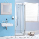 Simpsons Supreme 800mm Side Panel 4mm (Silver Frame & Clear Glass)