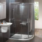 Milano 1200 x 900mm Offset Double Door Quadrant Shower Enclosure