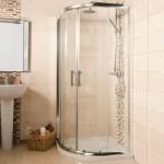 Milano 1000mm Double Door Quadrant Shower Enclosure