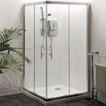 Premier Aegean 760mm Corner Entry Shower Enclosure
