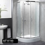 Aqualux 800mm Shine Quadrant 6 Shower Enclosure