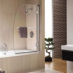 Twyford Hydr8 Sail Bath Screen RH