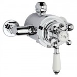 Hudson Reed Traditional Dual Exposed Thermostatic Shower Valve