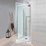 Simpsons Edge Pivot Shower Door 800mm