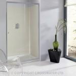 Simpsons Edge Single Sliding Shower Door 1100mm