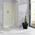 Simpsons Edge Single Sliding Shower Door 1200mm