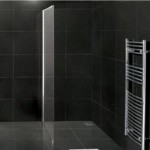 Premier 900mm Wetroom Panel and Support Bar