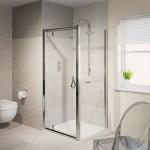 Aqualux 760mm AQUA 6 Pivot Shower Door