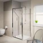 Aqualux 900mm AQUA 6 Pivot Shower Door