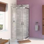 Aqualux 800mm AQUA 6 Quadrant Shower Enclosure