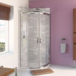 Aqualux 900mm AQUA 6 Quadrant Shower Enclosure