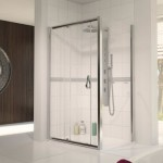 Aqualux 1000mm AQUA 6 Sliding Shower Door