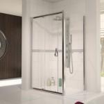 Aqualux 1500mm AQUA 6 Sliding Shower Door