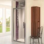 Aqualux 800mm AQUA 8 Glide Pivot Shower Door