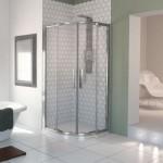 Aqualux 800mm AQUA 8 Glide Quadrant Shower Enclosure with Double Door