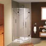 Aqualux 800mm AQUA 8 Hinge Quadrant Shower Enclosure