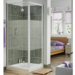 Aqualux 800mm AQUA 3 Pivot Shower Door & Side Panel