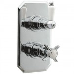 Ultra Beaumont Thermostatic Twin Shower Valve