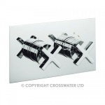 Crosswater Alvero Thermostatic Shower Valve-2 Control Landscape