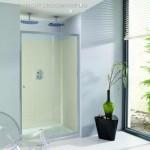 Simpsons Edge 1600mm Single Sliding Shower Door