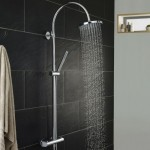 Hudson Reed Porto Thermostatic Bar Shower Valve & Kit
