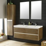 Hudson Reed Erin Textured Oak Double Basin Furniture Pack 1200mm