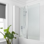 Simpsons Semi Frameless Click Double Bath Screen