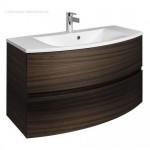 Bauhaus Svelte 1000mm Vanity Unit & Mineral Marble Basin Eucalyptus